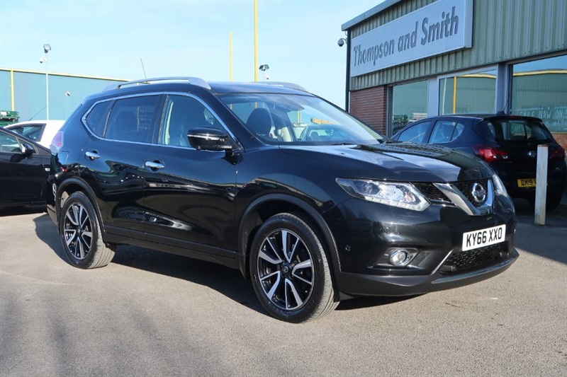 used Nissan X-Trail Tekna 1.6dCi 130PS 5dr 4x4 7 seater in louth
