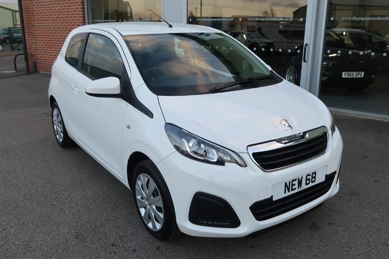 used Peugeot 108 Active 1.0i 72PS 3dr in louth