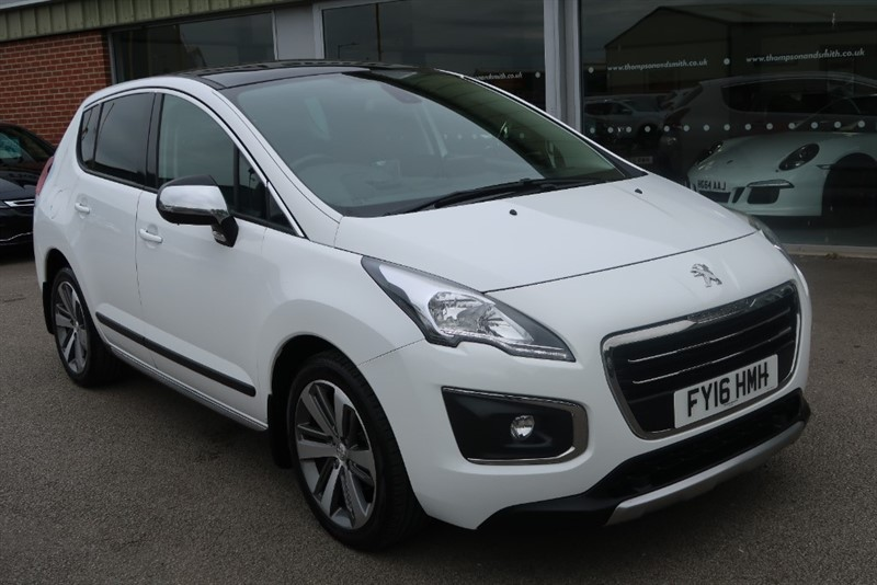 used Peugeot 3008 Allure 1.6BlueHDi (120BHP) 5dr Automatic start/stop in louth