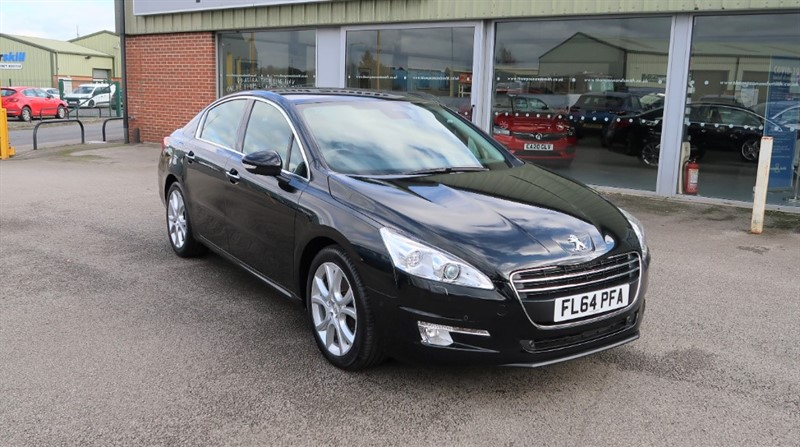 used Peugeot 508 508 Allure 2.0HDi 163PS FAP NAV 4dr saloon, Low Mileage! in louth