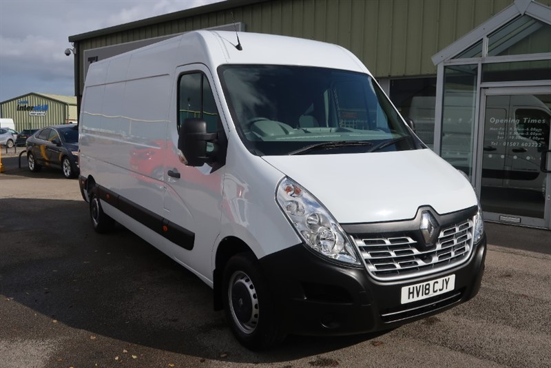 used Renault Master LM35 Business Energy DCi Panel Van 2.3 (145Ps), ONLY 6,000 MILES in louth