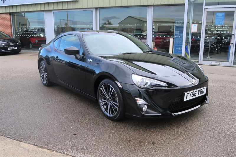 used Toyota GT86 2.0 (200bhp) D-4S Coupe 2 Door Low Mileage in louth