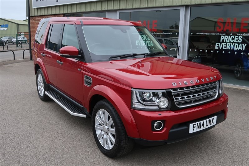 used Land Rover Discovery XS Discovery 4 XS 3.0SDV6 (255PS) Commercial Auto in louth