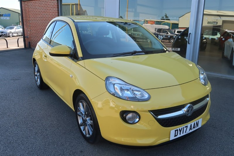 used Vauxhall Adam Jam 1.4i (85Ps) 3dr in louth