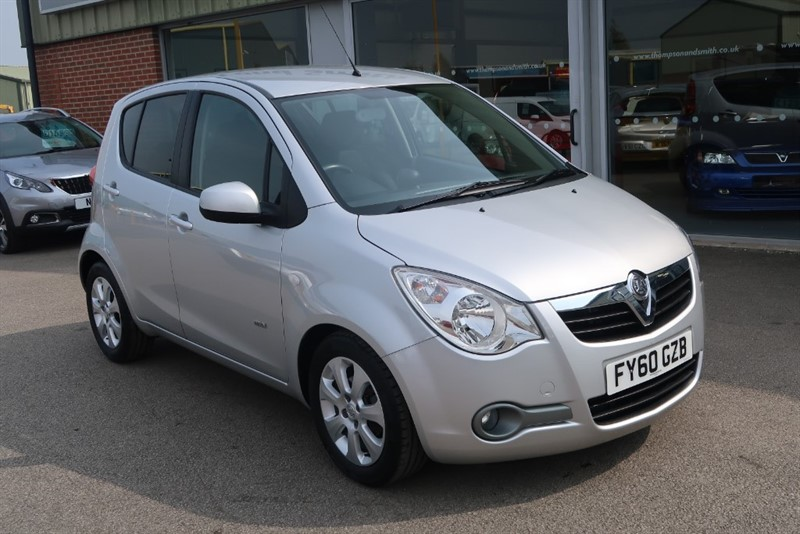 used Vauxhall Agila Design 1.2i 16v 5dr Auto in louth