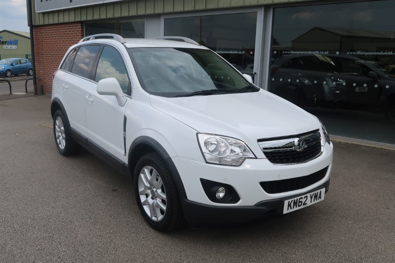 used Vauxhall Antara Exclusiv 2.2CDTi 5dr Auto 4X4 in louth