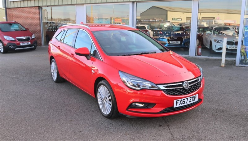used Vauxhall Astra Elite NAV 1.6CDTi (134PS) s/s 5dr Estate in louth