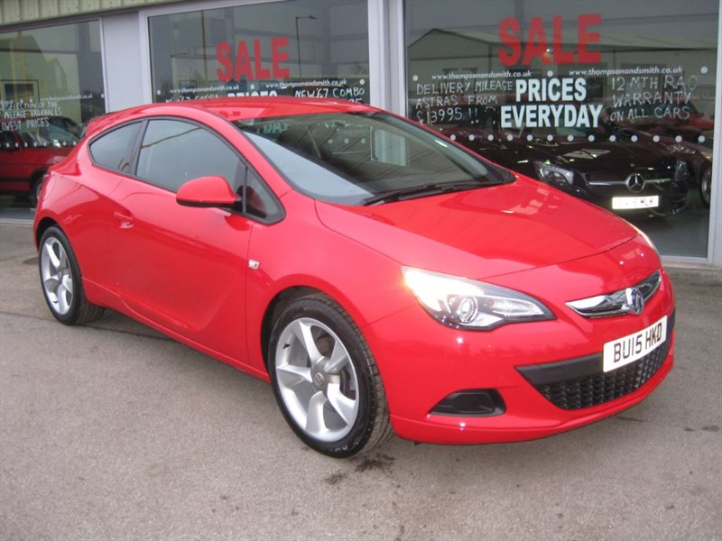 used Vauxhall Astra GTC Sport 1.4 Turbo 140PS 3dr VX Line   in louth