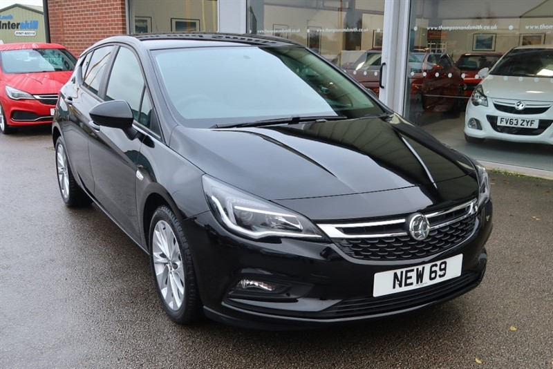 used Vauxhall Astra Tech Line NAV 1.4i Turbo (125PS) 5dr DELIVERY MILEAGE SAVE £6,105 in louth