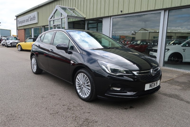 used Vauxhall Astra Elite NAV 1.6 Turbo (200PS) 5dr Start/Stop in louth