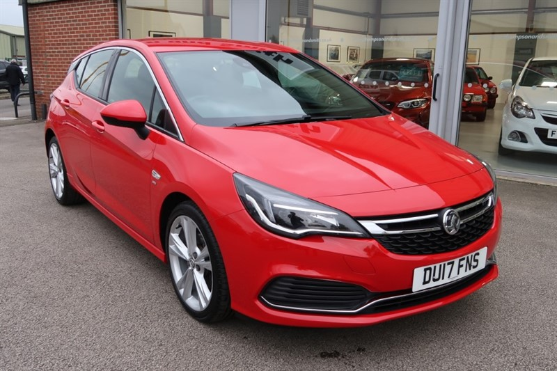 used Vauxhall Astra SRi VX Line NAV 1.6CDTi (136PS) s/s 5dr in louth
