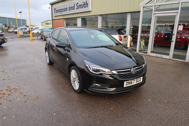 used Vauxhall Astra Elite 1.4T (150PS) 5dr NAV in louth