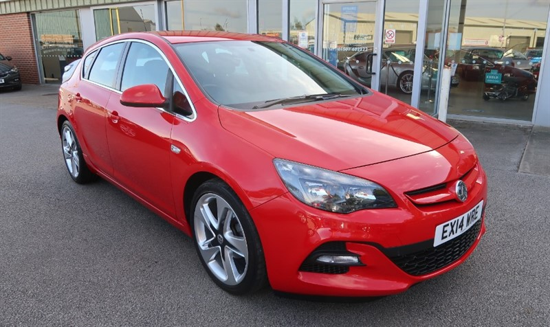 used Vauxhall Astra Limited Edition 1.4i Turbo (140PS) Low Mileage in louth