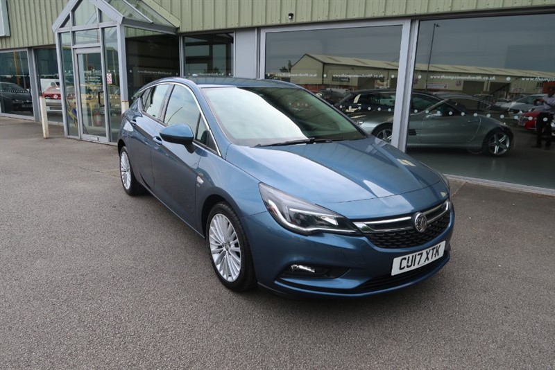 used Vauxhall Astra Elite 1.6CDTi (136PS) 5dr NAV in louth