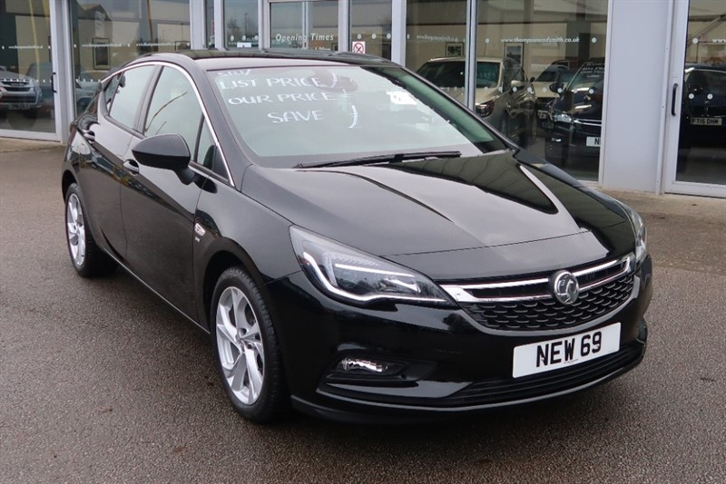 used Vauxhall Astra SRi 1.4i Turbo (150PS) 5dr - DELIVERY MILEAGE 69 REG in louth