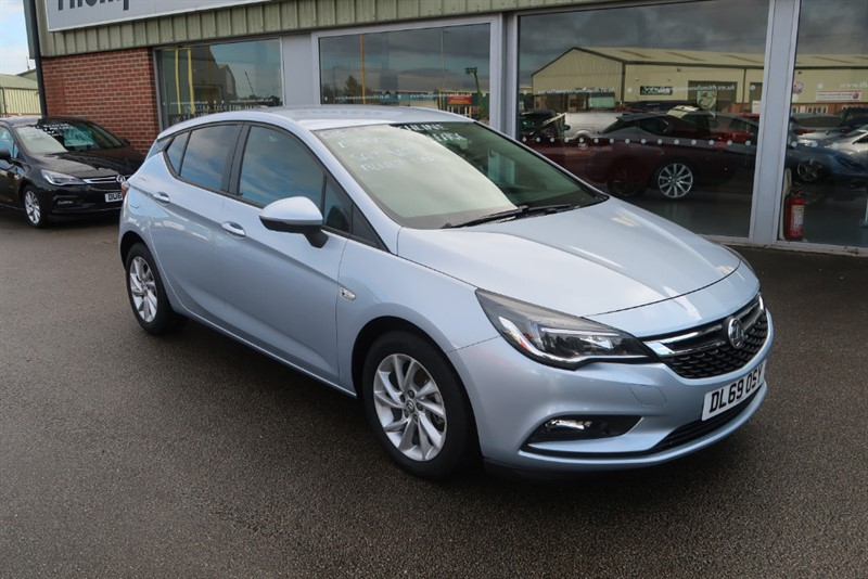 used Vauxhall Astra Tech Line NAV 1.6CDTi (110PS) ecoTEC 5dr in louth