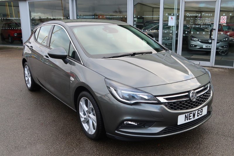 used Vauxhall Astra SRi 1.4i Turbo (150PS) 5dr  SAVE £8,415 in louth