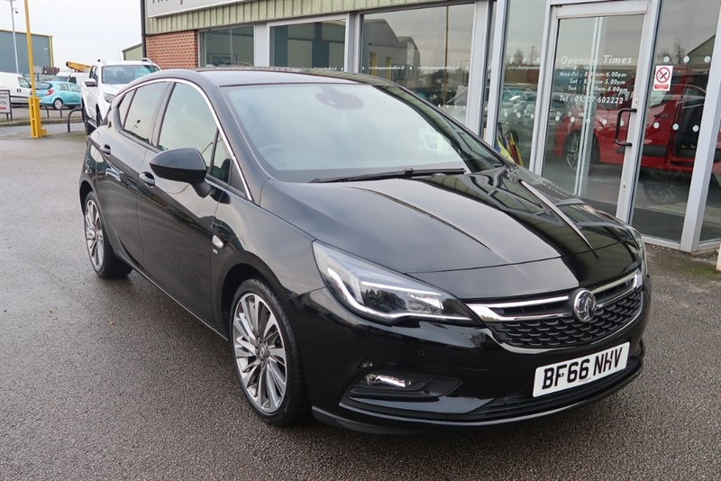 used Vauxhall Astra SRi 1.6T (200PS) s/s 5dr NAV in louth