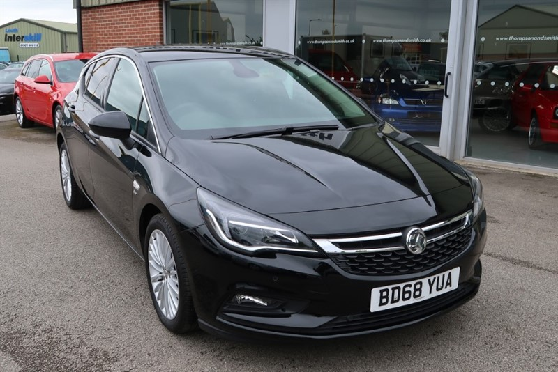 used Vauxhall Astra 1.4i Turbo (150 Ps) Turbo Elite Nav in louth