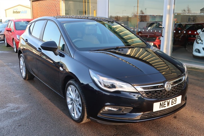 used Vauxhall Astra Tech Line NAV 1.4i Turbo (125PS) 5dr DELIVERY MILEAGE ONLY in louth