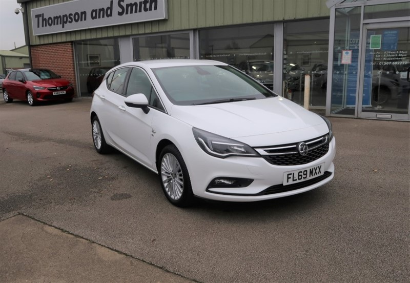 used Vauxhall Astra Elite NAV 1.4i Turbo (150PS) 5dr LOW MILEAGE in louth
