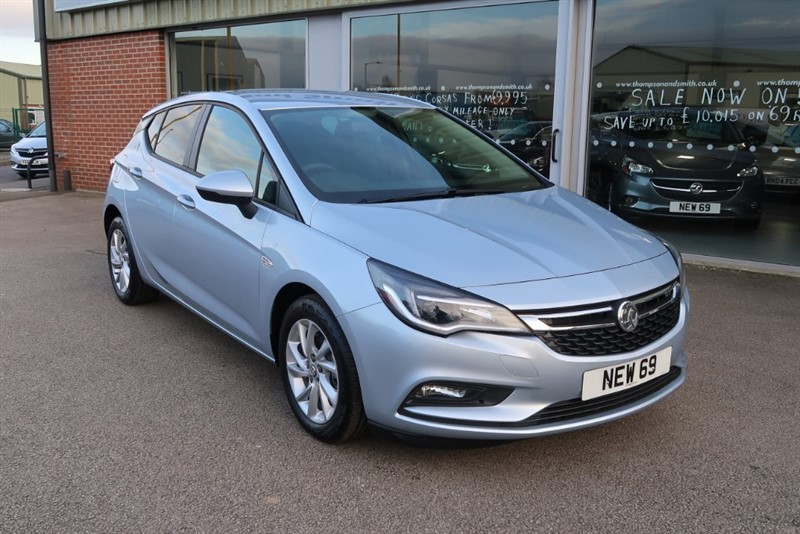 used Vauxhall Astra Tech Line NAV 1.6CDTi (110PS) ecoTEC 5dr DELIVERY MILEAGE in louth