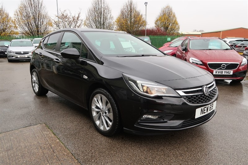 used Vauxhall Astra Design 1.4i Turbo (125PS) 5dr NEW 69 Reg SAVE £6,005 in louth