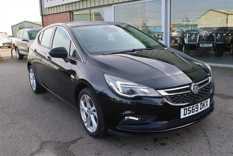 used Vauxhall Astra SRi 1.4i Turbo (150PS) 5dr Save £8,915 in louth