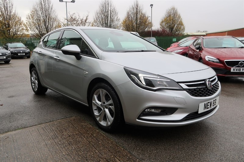 used Vauxhall Astra SRi 1.4i Turbo (150PS) 5dr  NEW 69 REG SAVE £8,415 in louth