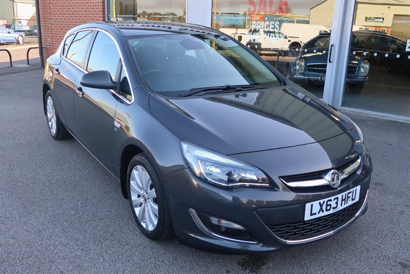 used Vauxhall Astra Elite 1.6i 16v (115PS) 5dr in louth