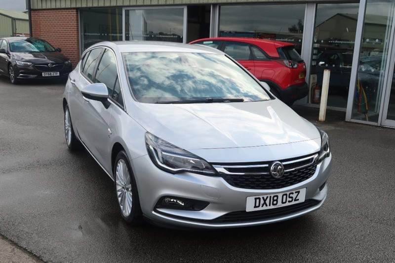 used Vauxhall Astra Elite 1.4T (150PS) 5dr in louth