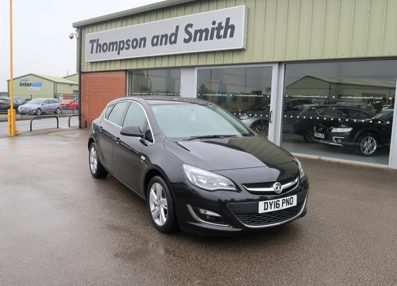 used Vauxhall Astra SRI 1.4 (100PS) 5dr hatchback in louth
