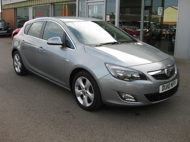 used Vauxhall Astra SRi 1.6i 16v 115PS 5dr NEW SHAPE in louth