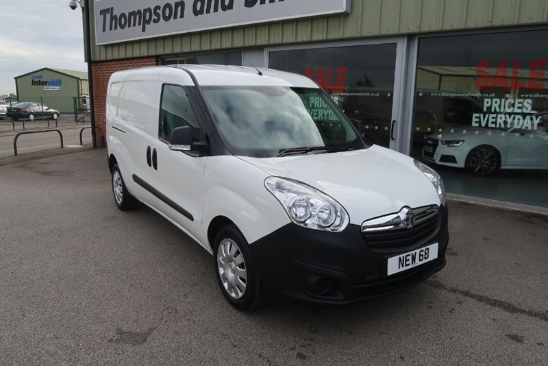 used Vauxhall Combo Crewvan L2 H1 2300 1.6CDTi in louth