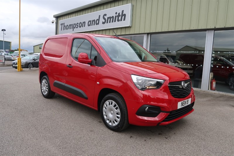 used Vauxhall Combo Cargo L1 Sportive 2000 1.6 (100PS) Turbo D 3 Seats, SAT NAV in louth