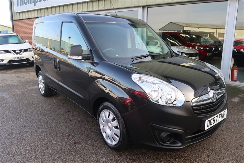 used Vauxhall Combo L1H1 2300 1.6 CDTI (105Ps) CREW VAN 5 SEATS in louth