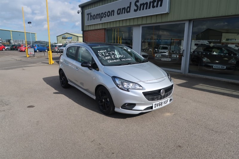 used Vauxhall Corsa SRi 1.4i 90PS VX Line NAV Black Edition 5dr in louth