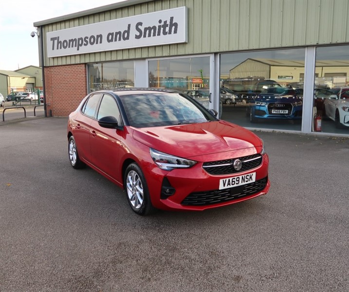 used Vauxhall Corsa New Model Corsa 1.2T (100 bhp) SRI Premium 5 Dr in louth