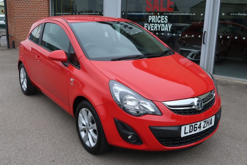 used Vauxhall Corsa Excite 1.2i 16v 3dr in louth