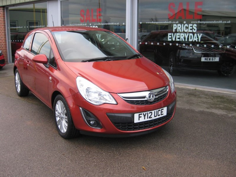 used Vauxhall Corsa Active 1.3CDTi ecoFLEX 75PS 3dr in louth