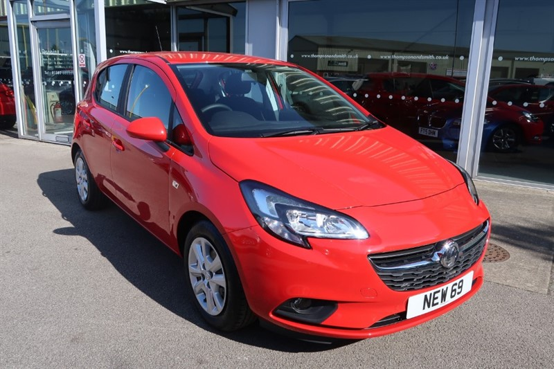 used Vauxhall Corsa Design 1.4i 90PS Start/Stop 5dr, delivery mileage ! ! in louth