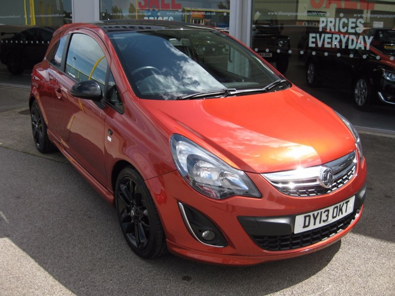 used Vauxhall Corsa Limited Edition 1.2i 16v 3dr RAC Warranty in louth