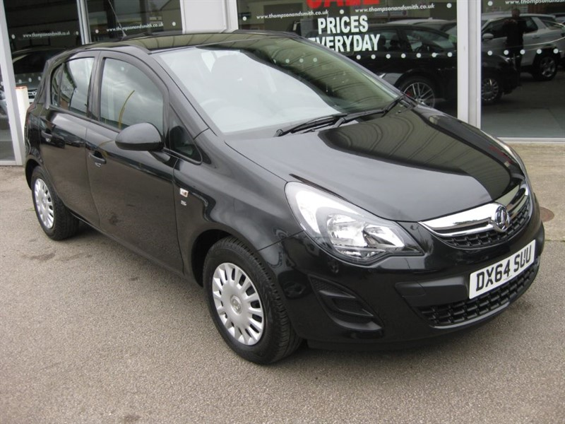used Vauxhall Corsa S 1.2i 5dr A/C RAC Warranty in louth