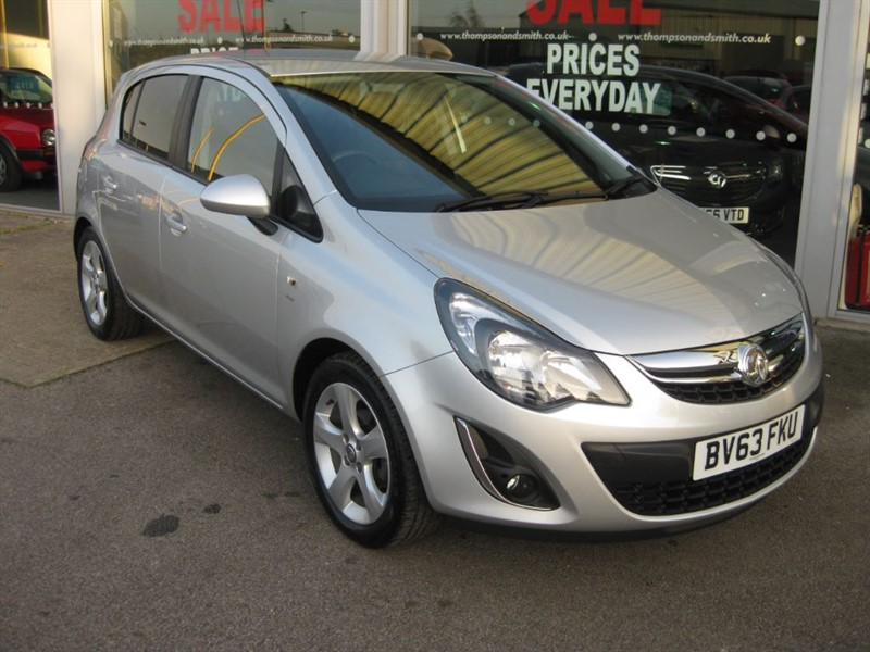 used Vauxhall Corsa SXi 1.2i 16v VVT 5dr A/C LOW MILEAGE in louth