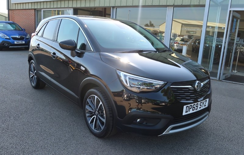 used Vauxhall Crossland X Elite NAV 1.2 5dr start/stop Delivery Mileage in louth