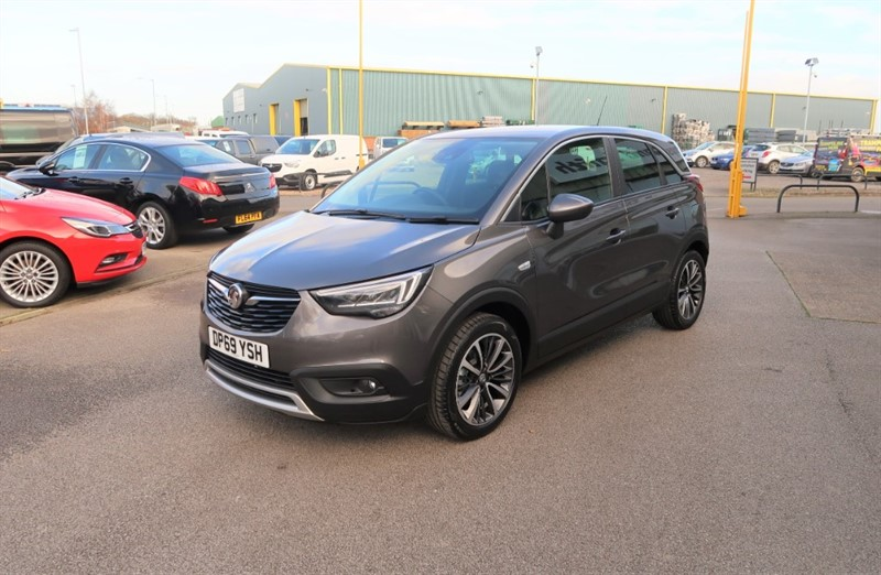 used Vauxhall Crossland X Elite NAV 1.2 5dr start/stop SAVE £7,495 in louth
