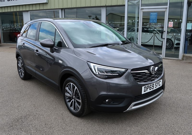 used Vauxhall Crossland X Elite NAV 1.2 5dr start/stop, Del miles, Big Saving!! in louth