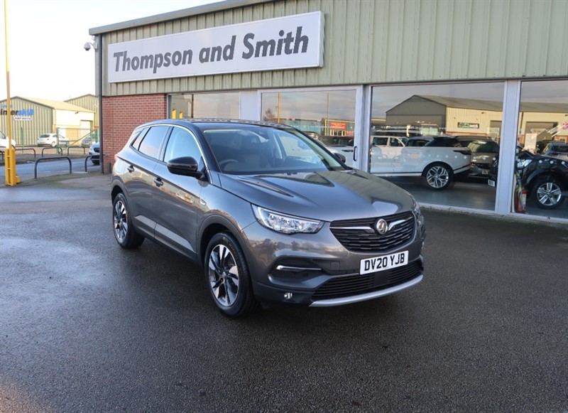 used Vauxhall Grandland X SRI NAV 1.2 (130PS) Turbo 8 SPEED AUTO - SAVE £10,640 in louth