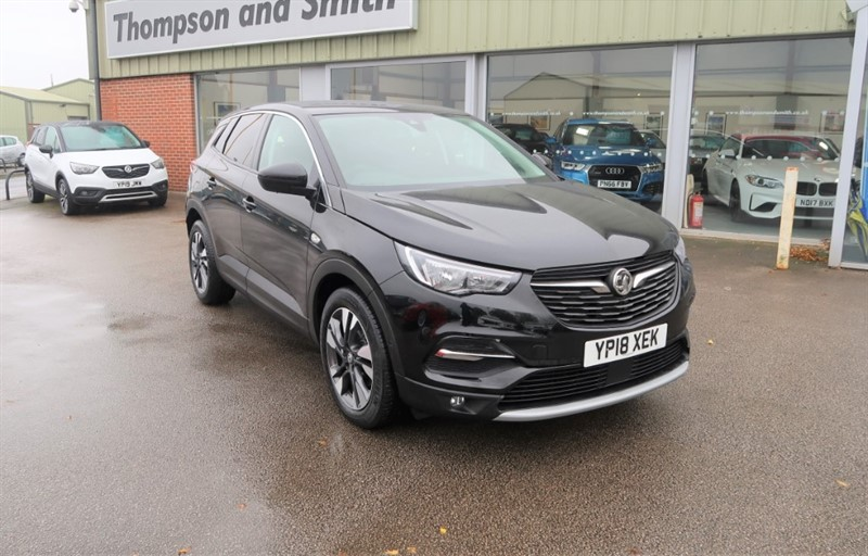 used Vauxhall Grandland X 1.6 D (120Bhp) SPORT NAV S/S Automatic in louth