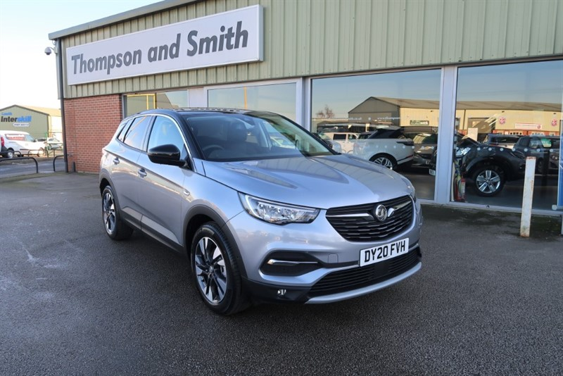 used Vauxhall Grandland X SRI NAV 1.2 (130PS) Turbo SAVE £10,840 in louth
